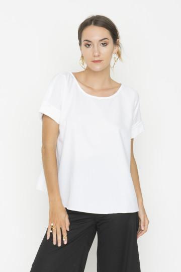 White Irene Top