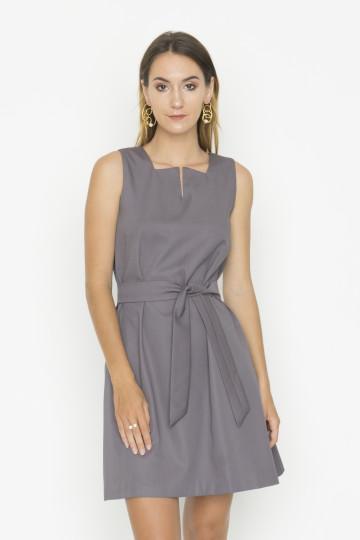 Grey Tran Dress