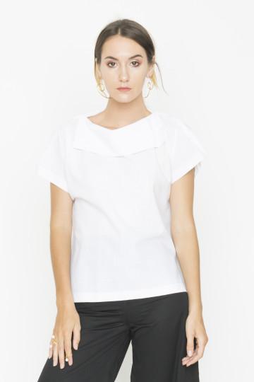 White Trois Shirt