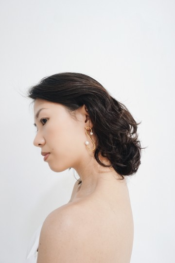 S earrings