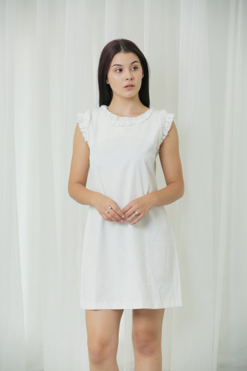 Side Frill Dress