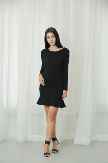Frill Bodycon Dress