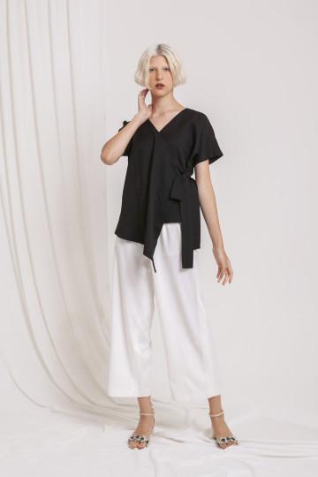 Slate Kimono Top Black