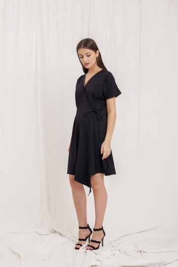 LINDEN DRESS BLACK