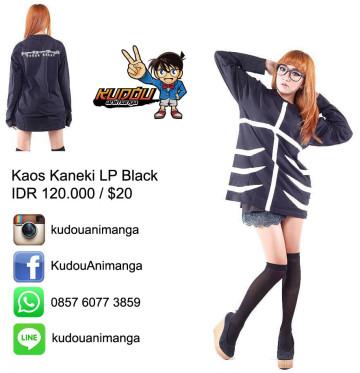 Kaos Kaneki Cosplay Long image
