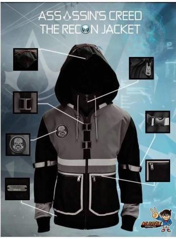 Jaket Assassin Creed Recon Black image