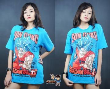 Kaos Son Goku Blue image