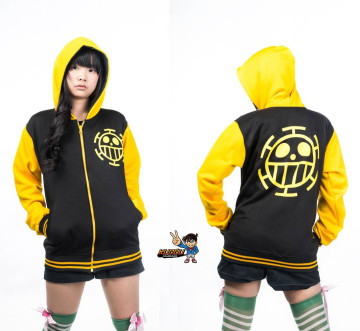 Jaket Law Black Yellow image