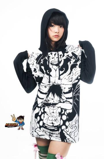 Sweater Luffy Gear image