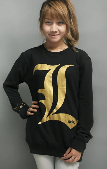 Sweater Deathnote Gold image