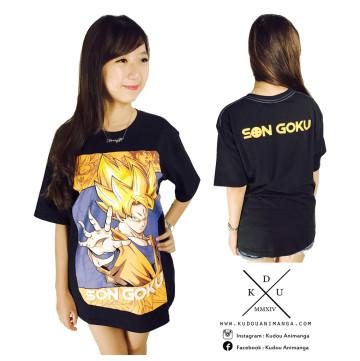 Kaos Son Goku Fullprint image
