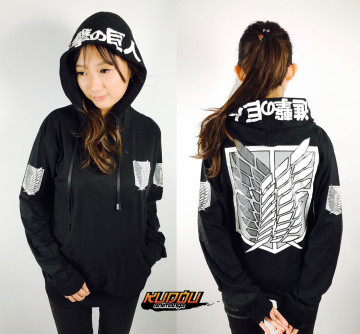 SWEATER SNK BLACK