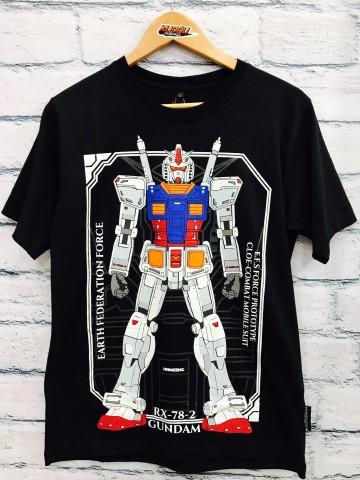 Kaos Gundam Black
