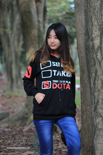 Sweater Dota2 Addict image