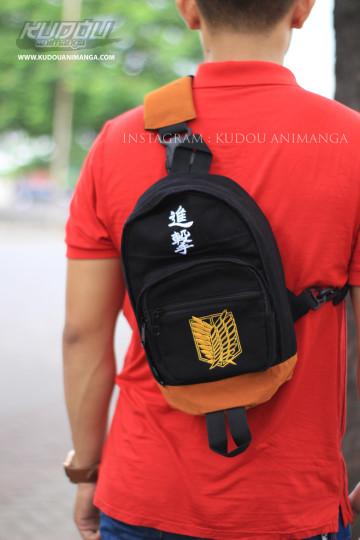 Shoulderbag Denim SNK Gold image