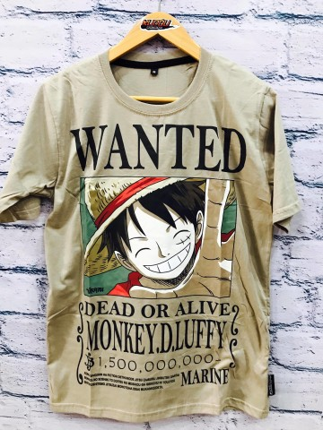 Kaos Luffy Wanted 1.5 Milyar Berry image