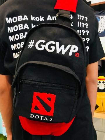SHOULDERBAG DENIM DOTA2 GGWP image