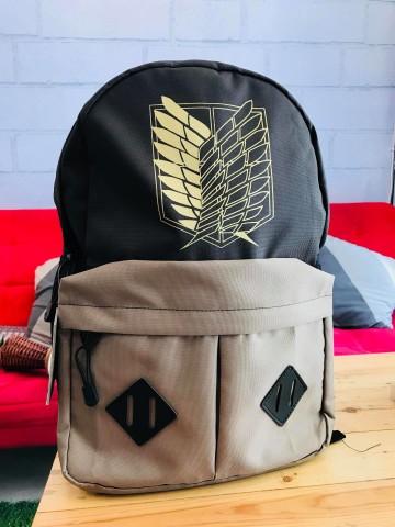Bagpack SNK Brown image