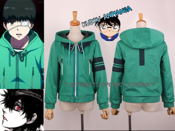 Jaket Kaneki Cosplay Green