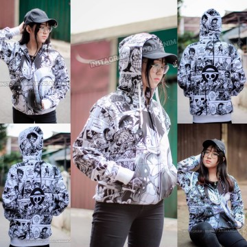 Jaket One Piece Fullprint