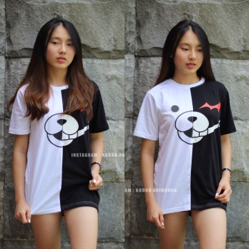KAOS MONOKUMA BLACK WHITE