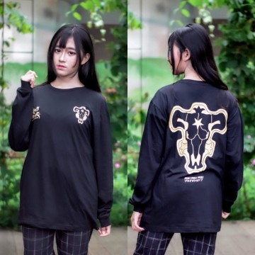 Longsleeve Black Bull Gold New
