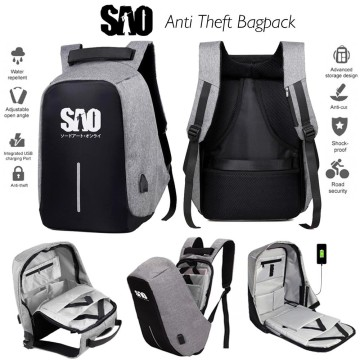 SAO Anti Theft Bagpack