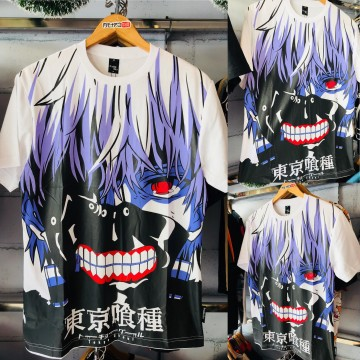 Kaos Kaneki Fullprint Mask