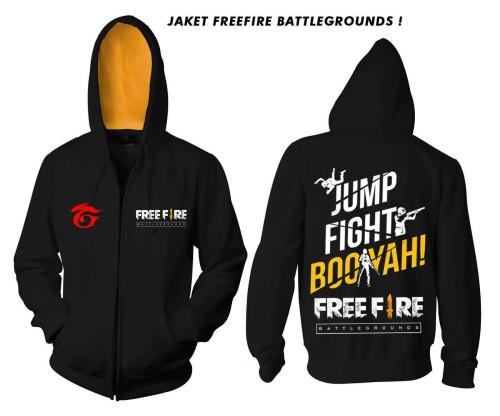 JAKET FREE FIRE BATTLEGROUND