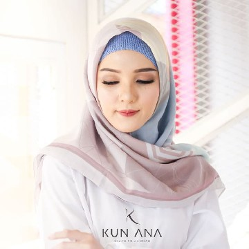 KERUDUNG VOAL RELIC BY KUN ANA