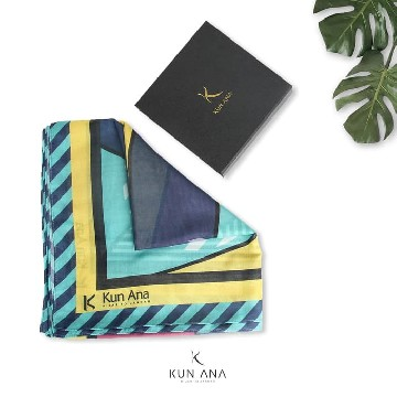 KERUDUNG VOAL OLIVE BY KUN ANA