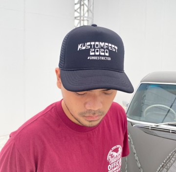 TRUCKER CAP KUSTOMFEST 2020 - BLACK