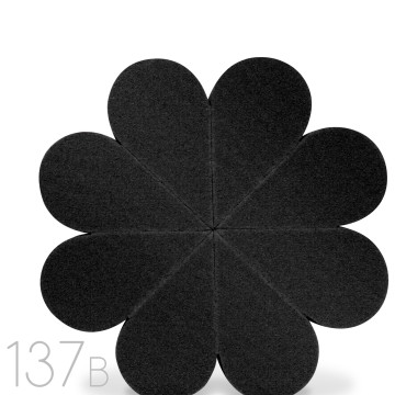 FLOWER SPONGE - BLACK image