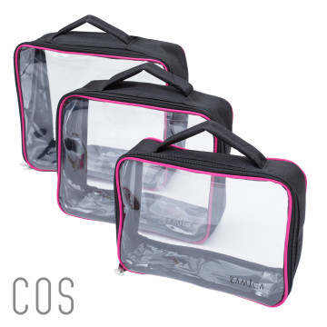 Cosmetic Bag Travel - 1set (3sizes) image