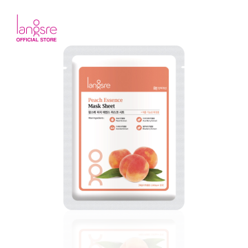 Langsre Peach Essence Mask Sheet