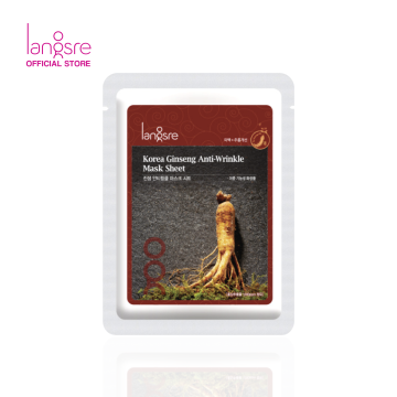 Langsre Korea Ginseng Anti-Wrinkle Mask Sheet