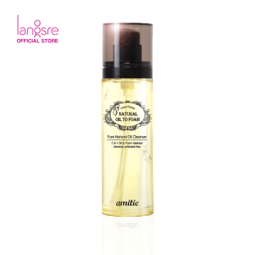 Amittie Natural Oil to Foam Cleanser