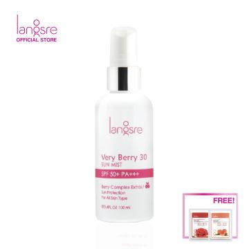 Langsre Very Berry 30 Sun Mist SPF50+/PA+++
