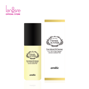 Amittie Natural Oil to Foam Cleanser - Mini Size
