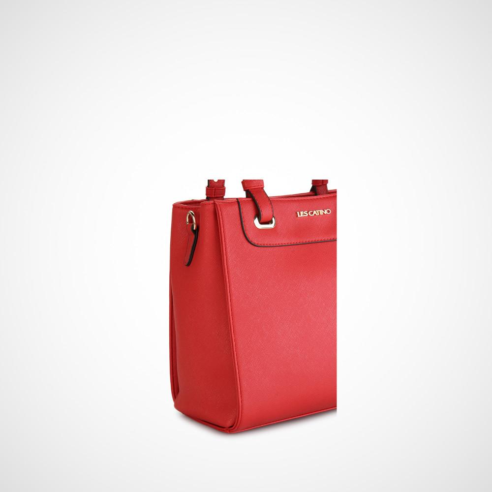 Les Catino Fay Satchel Solid Taupe Hand Bag Daftar Update Harga New York Brooklyn M Haze