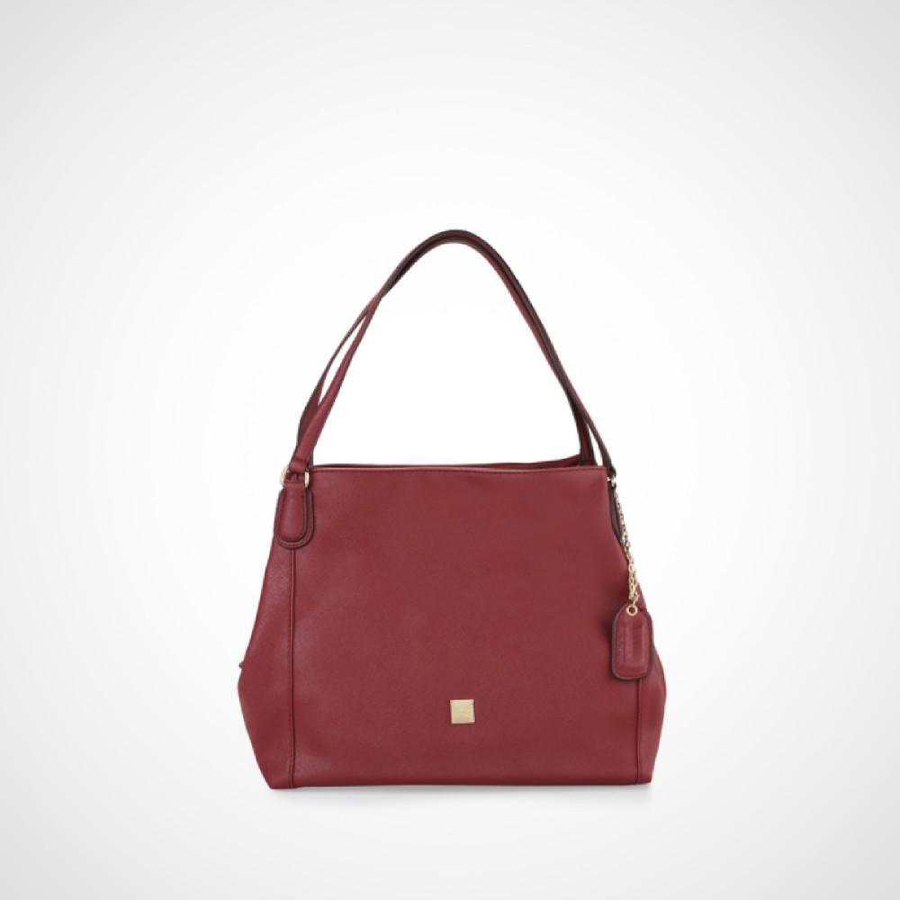 Les Catino Cobela Hobo Red Bag Beli Harga Murah Monogram Duffle Adobe Rose Maroon