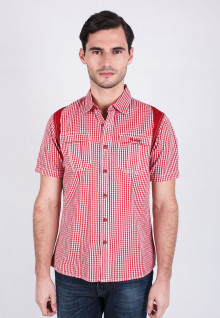 Slim Fit - Fashion Shirt - Red