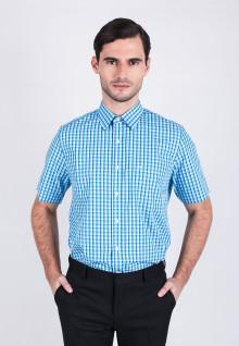 Regular Fit - Formal Shirt - Blue Gingham