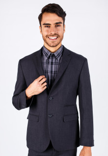 Regular Fit - Formal Suits - Gray