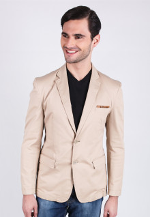 Slim Fit - Khakis Blazer