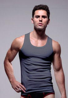 LGS Underwear - Dark Gray - Tank Top - 1 Pcs