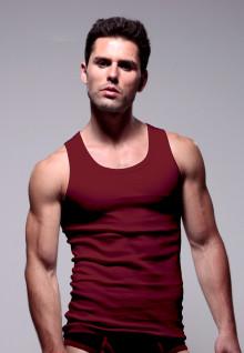 LGS Underwear - Merah Maroon - Tank Top - 1 Pcs