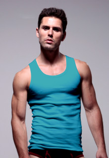 LGS Underwear - Blue - Tank Top - 1 Pcs