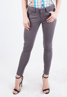 Long Pants - Gray - Straight