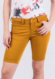 Short Pants - Yellow - Slim Fit